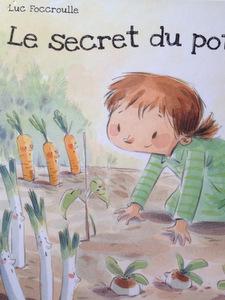 L\'école de Florine visite le potager - Quoi de neuf au potager ?